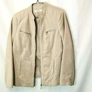 Tanjay Womens Front Zip Up Jacket Size 8